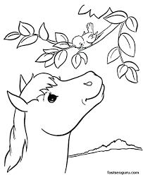 Animal Coloring Pages Printable Free Colors Farm