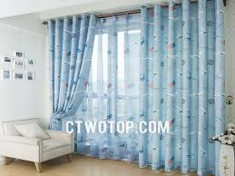 bedroom blue curtains for bedroom embroidery blue bedroom