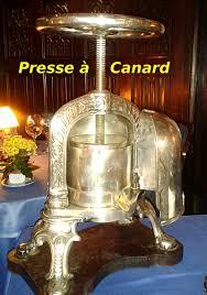 presse cuisine dictionnaire de cuisine et gastronomie presse à canard