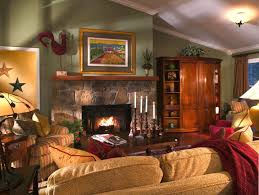 Living Room Cozy Rustic Ideas For Small Houses Pinterest