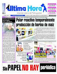 Edici³n 25 11 2016 by Ultima Hora El primer diario de Portuguesa
