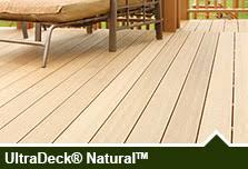 ultradeck low maintenance composite decking railing at menards