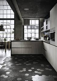 black and white hexagon tile hex matte white porcelain mosaic