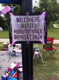 Monster Truck Party – Water Walker Events – Design – Planning