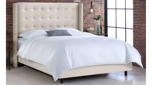 Skyline Furniture Tufted Headboard by Dorel Asia Tufted Headboard Chrome King Wingback With Arms Bedroom