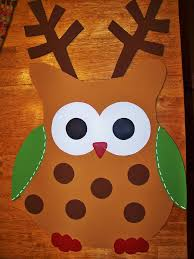 Kindergarten Winter Door Decorations by Best 25 Owl Door Ideas On Pinterest Owl Door Decorations Owl