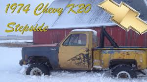 1974 Chevy K20 Stepside Update Feb, 26 2013 - YouTube Chevy K10 Truck Restoration Cclusion Dannix 1974 Suburban Chevrolet Forum Enthusiasts Forums Tci Truck Frames New For Your Old Flashback F10039s Arrivals Of Whole Trucksparts Trucks Chevy Gm Big Hub Dana 44 K20 K30 Wheel 1973 1975 1976 Lifted Pictures Wincher For Gmc C K Series Hd Sierra Silverado Parts Units On Vanderhaagscom 1969 El Camino Paint Cross Reference 1972 C10 Shortbed Pickup Youtube Classic Free Shipping Speedway Motors