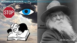 walt whitman the wound dresser meaning miracles by walt whitman summary analysis meaning