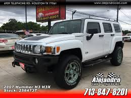 100 Hummer H3 Truck ALEJANDRO CARS TRUCKS INC Used 2007 White For Sale In