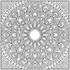 Fancy Mandala Coloring Books For Adults Amazon Mandalas Adult Book With Bonus Relaxation