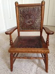 Fryeburg, Maine Antique Oak With Leather Seat & Matching ... Arts Crafts Mission Oak Antique Rocker Leather Seat Early 1900s Press Back Rocking Chair With New Pin By Robert Sullivan On Ideas For The House Hans Cushion Wooden Armchair Porch Living Room Home Amazoncom Arms Indoor Large Victorian Rocking Chair In Pr2 Preston 9000 Recling Library How To Replace A An Carver Elbow Hall Ding Wood Cut Out Stock Photos Rustic Hickory Hoop Fabric Details About Armed Pressed Back