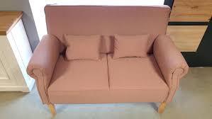 küchensofa antoni 2 sitzer sofa speisesofa flamingo rosa
