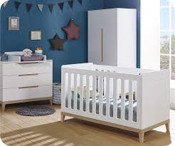chambre bébé complète riga blanche et bois
