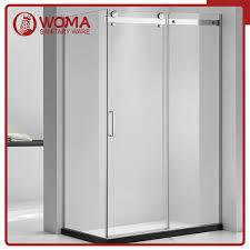 china woma einfaches badezimmer glastür dusche kabine mit