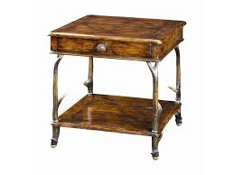 Threshold Campaign Desk Dimensions by Theodore Alexander Tables Faux Deer Antler End Table Baer U0027s