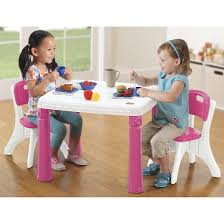 Step2 Kitchens U0026 Play Food by Step2 Lifestyle Kitchen Table And Chairs Pink Target