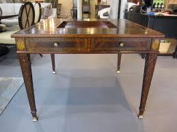 Maitland Smith Buffet Lamps by Maitland Smith Mahogany Game Table Item 3131 024 Call