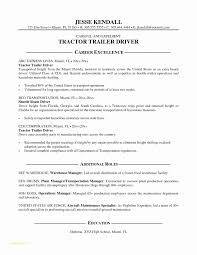 Truck Driver Resume Sample Cover Letter Template Best