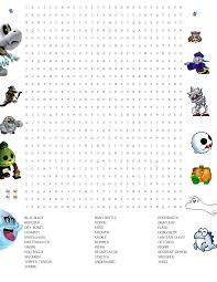 Haunted Halloween Crossword Puzzle Answers by The U0027shroom Issue Lxvii Fun Stuff Super Mario Wiki The Mario