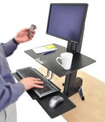 Kangaroo Standing Desk Uk by Innovative Adjustable Desks For Standing Or Sitting Best Standing