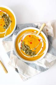 Pumpkin Bisque Recipe Vegan by Creamy Vegan Pumpkin Soup U2014 Whole Living Lauren