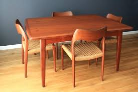 Danish Dining Room Chairs Teak Furniture Table And