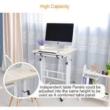 Aol Online Help Desk by Amazon Com Soges Adjustable Stand Up Desk Computer Desk