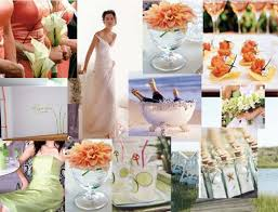 Simple Beach Summer Wedding Theme Idea