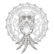 INCREDIBLE Owl Mandala Coloring Page