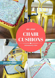 DIY No-Sew Reversible Chair Cushions - MomAdvice Update A Nursery Glider Rocking Chair The Diy Mommy Nosew Reversible Cushions Momadvice Upholstered Home Decor Mom Amazoncom Janist Cotton Tatami Futon Pads Quilted Comfy And Lovely Plans Royals Courage Equal Portable Easy Folding Recling Zero Gravity How To Recover Your Outdoor Quick Jennifer Pdf To Make A Ding Cushion Free Free Ship Or Set In Navy Blue And Aqua Damask On White Heart Dutailier Replace Baby 10 Best Rocking Chairs Ipdent