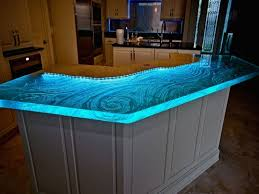 100 Kitchen Glass Countertop Amazing As Well As Beautiful Glass Kitchen Countertops Intended For
