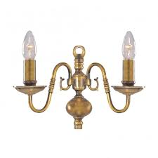 scintillating traditional wall lights antique brass images best
