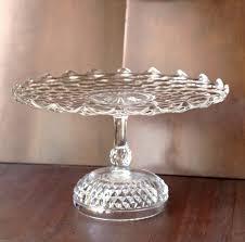 Wedding Cake Stand Vintage Pedestal Inch Gold Dome Il Full Medium Size