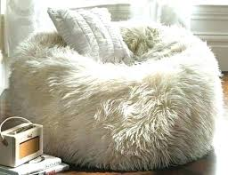 Faux Fur Bean Bags Giant Furry Bag Bed Oversized Luxury