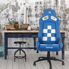 finish line chair white on blue rapidx
