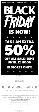 Urban Outfitters Black Friday Email Design - Nov. 29, 2013 ... Avenue Promo Code October 2019 Singapore Cashback Looking For An Urban Outfitters Here Are 6 Ways Farfetch Coupons Codes 30 Off Home Coupon Code Vacation Deals Christmas 2018 Findercomau Heres The Best Way To Shop At Asos Wikibuy Outfitters October Sony A99 50 Bldwn Top Promocodewatch Customer Service Guide How To Videos