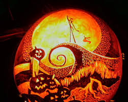Nightmare Before Christmas Pumpkin Template by Happy Halloween Alice In Nappyland
