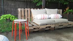 Pallet Wood Patio Chair Plans by Wood Pallet Outdoor Furniture