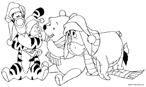 Free Disney Christmas Coloring Pages Latest Design 30410