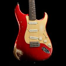 Fender Custom Shop 1959 Stratocaster Candy Apple Red Heavy Relic