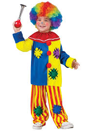 Large Blow Up Halloween Decorations by Clown Costumes Kids Clown Halloween Costume