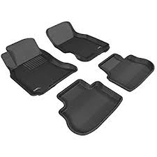 Infiniti G35 Floor Mats Rubber by Amazon Com 3d Maxpider Complete Set Custom Fit All Weather Floor