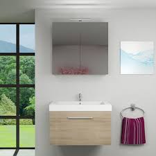 spiegelschrank badspiegel badezimmer spiegel city 100cm