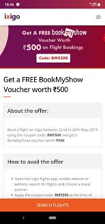 Get Free BMS Gift Voucher Worth 500 For Flight Bookings On Ixigo!!! 30 Off Air China Promo Code For Flights From The Us How To Use Your Traveloka Coupon Philippines Blog Make My Trip Coupons Domestic Flights 2018 Galeton Gloves Omg There Is A Delta All Mighty Expedia Another Hot Deal 100us Off Any Flight Coupon Travelocity Airfare Code Best 3d Ds Deals Discount Air Canada Renault Get 750 Cashbackmin 3300 On First Flight Ticket Booking Via Paytm To Apply Discount Or Access Your Order Eventbrite The Ultimate Guide Booking With American Airlines Vacations 2019 Malaysia Promotions 70 Off Tickets August Codes