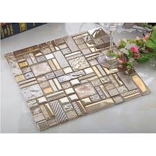 glass mosaic tile backsplash metal tiles wall backsplashes