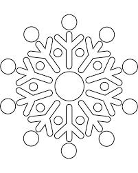 Snowflake Template Free Printable