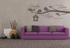 dekoration wandtattoo wohnzimmer wandtatoo spruch familie