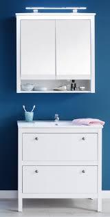 badezimmer set ole landhausstil inkl waschbecken weiß 2 teilig