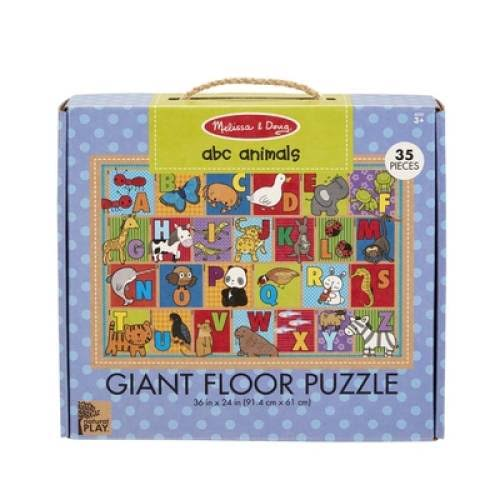 Melissa & Doug Giant Floor Puzzle ABC Animals
