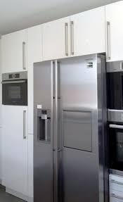 küche mit integriertem side by side in hausen küchen blank